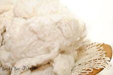 SILK NOIL - Undyed Silk Noil for Carding, Dyeing, Spinning, Felting - 2 oz