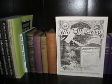 """BIRTH OF THE NATION""  March 1925 WATCHTOWER 1914 KINGDOM Jehovah from original"