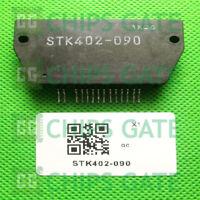 1PCS STK402-090 Encapsulation:SIP-ZIP,Two-Channel Class AB Audio Power