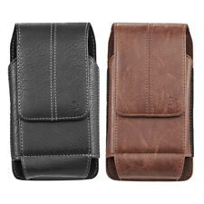 For iPhone 11 / 11 Pro / 11 Pro Max / Xr Leather Phone Pouch Card Slot Holster