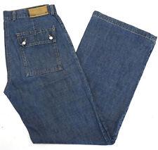 Street One Leon Damen High Waist Jeans Hose weites Bein Bootcut Loose C388
