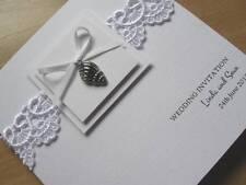 Luxury Wedding Invitation - Shell Beach Theme