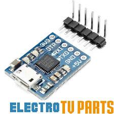 CP2102 Micro USB to UART TTL Serial Adapter 3.3V 5V 6Pin for ESP8266 Arduino Pi