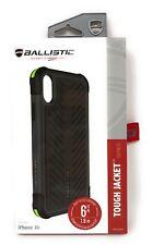 Ballistic Apple iPhone XR Tough Jacket Heavy Duty Black Lime Protective Case