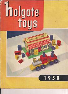 """""""HOLGATE TOYS 1950""""  RARE Original TOY CATALOGUE"""
