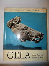Archeologia Storia - Griffo Von Matt: Gela città greca di Sicilia 1964 Hachette