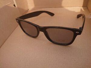 Skullcandy fashion Sunglasses UV400 WAYEFARE black frame fastp&p