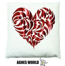 Personalised heart Dabbing Cushion Pillow Gift Birthday Present Custom