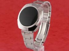 MICROSONIC nos rare ancienne vintage 1970 s DEL numérique L.E.D LCD homme swiss watch