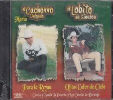 El Lobito De Sinaloa Y Mario El Cachorro Delgado CD New Nuevo sealed