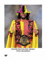 The Macho Man Randy Savage Promo Pre Print Wrestling Photo 8x6 WWF WCW