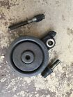 Used 94-01 Acura Integra AC Idler A/C Compressor Belt Tensioner pulley + bolts