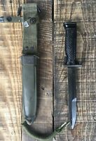 Original US G.I. M5A1 Milpar Bayonet M1 Garand Fighting Knife M8A1 WW2 Korea