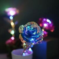 Novelty Gift Foil Plated Rose Gold Rose Lasts Forever Gift Decor Wedding