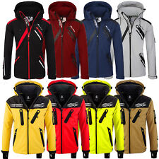 Rock Creek Herren Softshell Jacke Outdoor Regenjacke Softshelljacke H-127 NEU