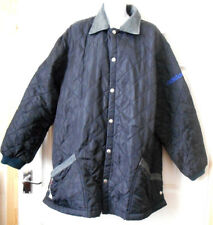 RARE ADIDAS VINTAGE OLYMPIC Part LEATHER Quilted JACKET COAT SAPPORO 72  Parka 089fa78d54