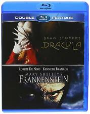 Bram Stoker's Dracula / Mary Shelley's Frankenstein - BLU RAY - NEW!!
