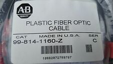 A-B - Cat. #99-814-1160-Z, Series C, Plastic Fiber Optic Cable- NEW LOT 5