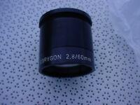 Friedrich Munchen 30.1441 vintage corygon lens f2.8/60Tube mount NOS