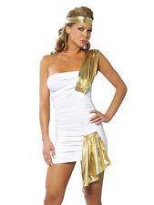 DONNA BIANCO SEXY halloween vestito festa EGITTO REGINA Godness costume cosplay