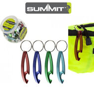 Summit Bottle Opener Keyring - Keychain Camping Metal Beer Bar Tool Claw