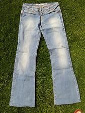 Jeans, Take two, 30/34, (38), rote Nieten, leicht ausgestellt