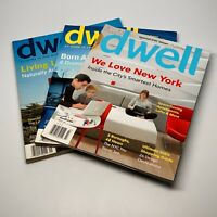 Lot 3 Dwell Modern Home Magazine Issues June 2006, September 2007, March 2011