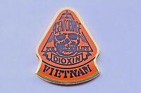Vietnam Veteran Agent Orange Hat Pin / Lapel Pin, Dioxin for Life