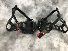 Wellgo LU-933 MTB ATB Pedals Cages and Straps
