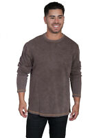 Scully Men's Cotton Beefy Long Sleeve T-Shirt TR-058