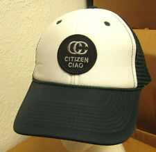 CITIZEN CIAO snapback hat patch trucker cap Los Angeles chic fashion NWT retro