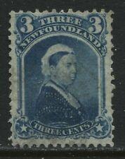 Newfoundland 1873 3 cents blue mint o.g. hinged