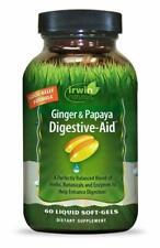 Irwin Natural, Ginger & Papaya Digestive-Aid