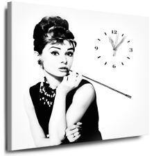 deko bilder drucke auf leinwand mit audrey hepburn g nstig kaufen ebay. Black Bedroom Furniture Sets. Home Design Ideas