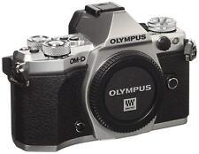 OLYMPUS OM-D E-M5 Mark II Digital Camera Body ONLY Silver EMS w/ Tracking