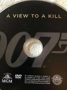 A view to kill DVD only