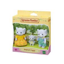Sylvanian Families Dollhouse Elephant Family 3pcs Set Toy Doll Figures 5376 New