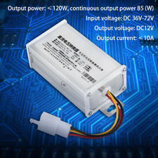 DC 36V-72V To 12V 10A Electric Bicycle Converter Adapter Down Transformer gd