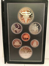 1982 Canada Proof Set 7 Coins Silver Dollar 1882 - 1982