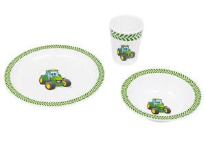 John Deere Dinnerware Set For Kids
