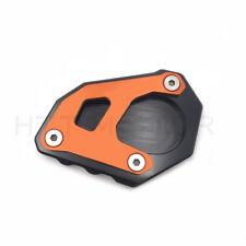 CNC Kickstand Side Stand Enlarger Plate For KTM 1050 1090 1190 1290 Adventure R