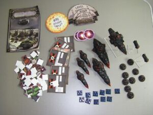 Dystopian Wars Russian Fleet - with flying things - well painted