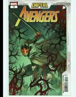 EMPYRE AVENGERS #3 MARVEL COMICS 1st Print 2020...Black Knight Cover, Man-Thing