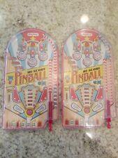 2018 Handheld Pinball Hi Score Game by Schylling Lot of 2!