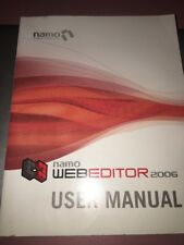 namo web editor 2006 user manuel