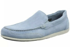 New Mens Rockport Bennett Lane 4 Venetian Moccasins Blue UK 10