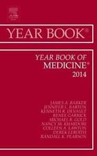 Year Book of Medicine 2014, 1e (Year Books), Barker MD, James, New Book