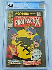 Marvel X-Men #42 CGC 4.5 1968 Death of Professor X Grotesk appearance Cyclops