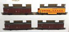 Roco DB Krone Circus Transporter Set - 4 Car Pack - 44009