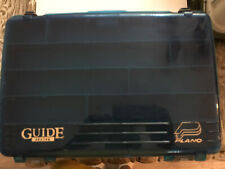 "Plano Guide Series Tackle Fishing Box #1258 17"" X 11.5"" X 7.5"" In Pristine Cond."